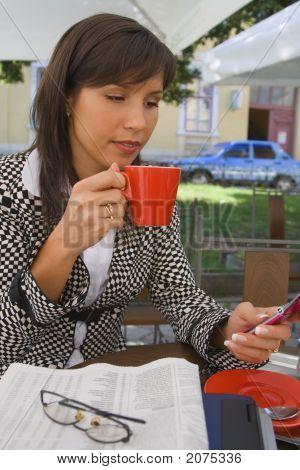 Busy Coffee Break