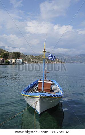 fishing boat Kastelorizo