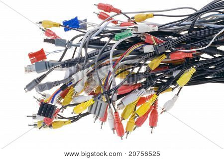 Different Connectors, Cables  And Plugs