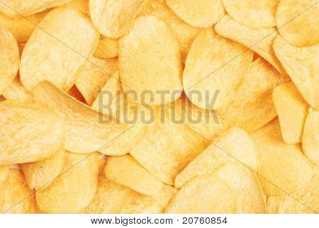 potato chips background