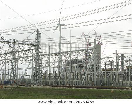 Wind Turbine Powerplant