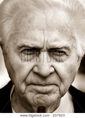 Unhappy Old Man