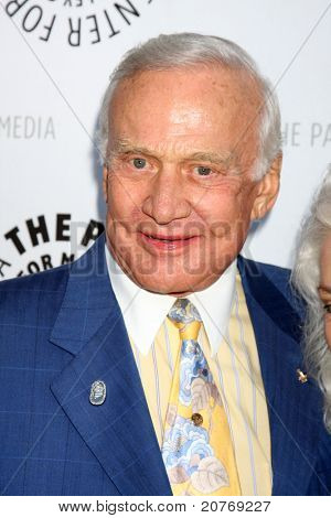LOS ANGELES - JUN 7:  Buzz Aldrin arrives at the Debbie Reynolds Hollywood Memorabilia Collection Auction & Auction Preview at Paley Center For Media on June 7, 2011 in Beverly Hills, CA