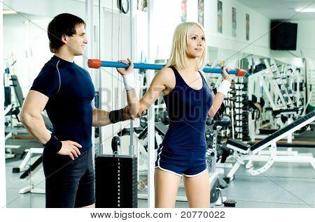 Casal de esporte