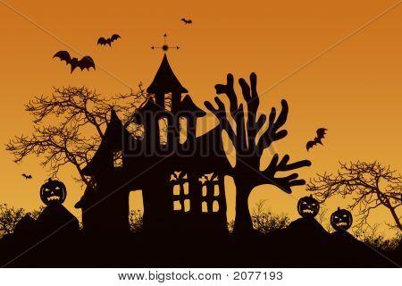 Haunted Halloween House2
