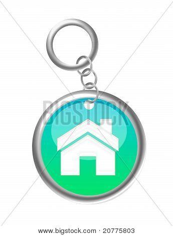 Key Chain House