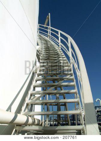 Stairway On Tank