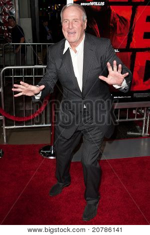 HOLLYWOOD, CA. - OCT 11: Jerry Weintraub arrives at the Los Angeles special screening of Red at Grauman's Chinese Theatre on Otc. 11, 2010 in Hollywood, California.