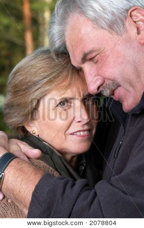 Middleaged Couple Portrait