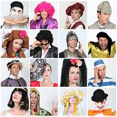 stock photo of marquise  - Carnival costumes - JPG