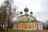 image of uglich  - old Cathedral in the ancient town of Uglich - JPG