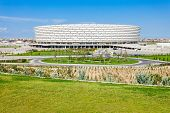Постер, плакат: The Baku National Stadium