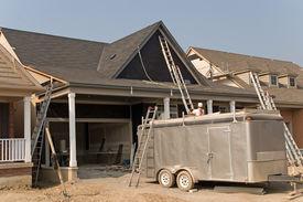 stock photo of trussle  - construction 09 oshawa - JPG