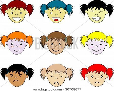 Kids Facial Expressions