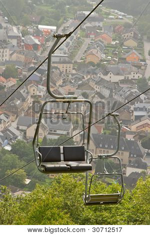 A Ski Lift Chair