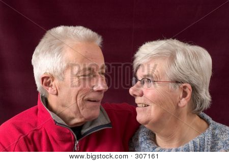 Mature Senior Couple