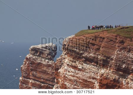 Photographers On Helgoland