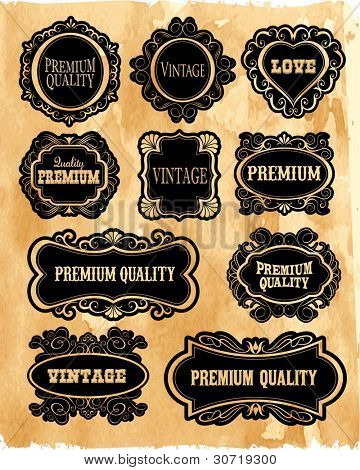 Premium ornamental Easy to scale and edit. All pieces are separated.