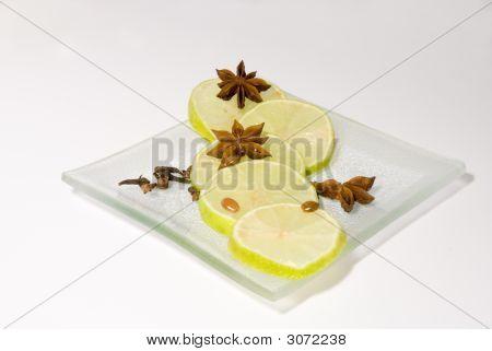 Still-Life With Lemons & Cinnamon Stars