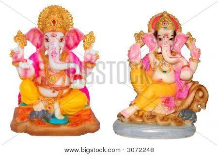 Hindu God Ganesh.