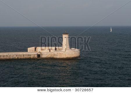 Valletta, Malta Lighthouse