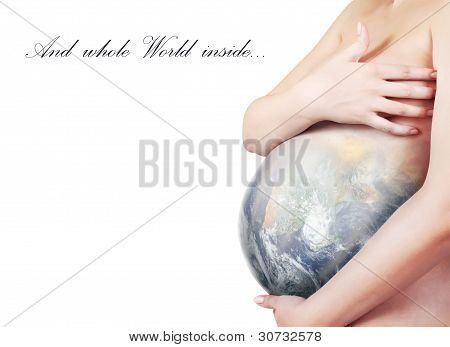 Concept Image About Protection Planet Earth