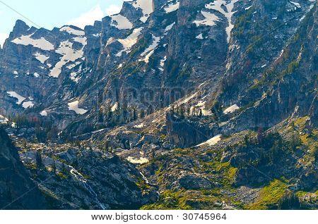 Grand Teton Peaks Inspirational Point