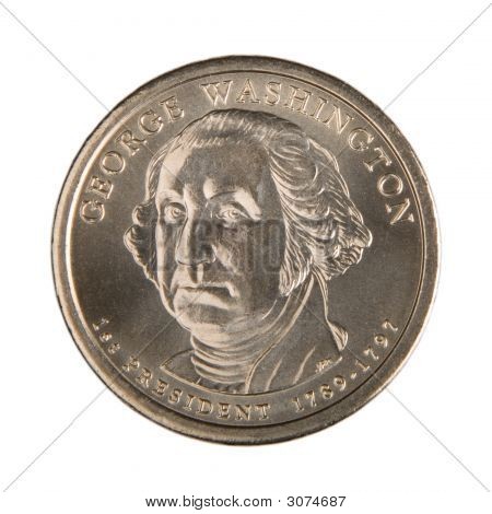 One Dollar Coin - Back