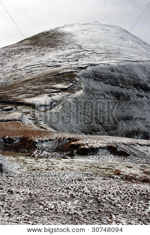 The Galtee mountains in winter, Ireland.