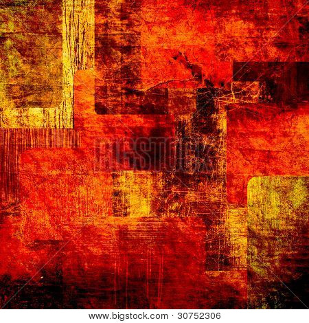 abstract Grunge-Quadrate-Hintergrund Kunst