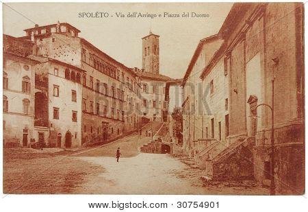 Spoleto Postcard