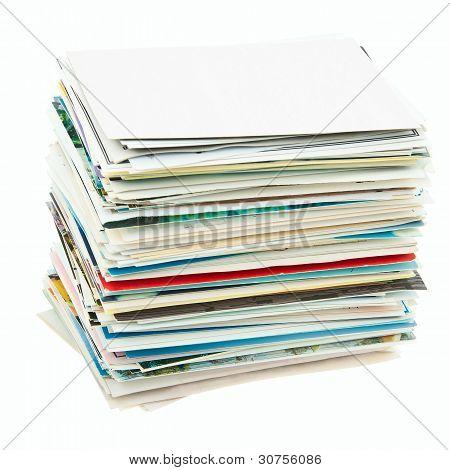 Postcards Stack.