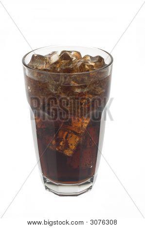 Glas Soda und Eis