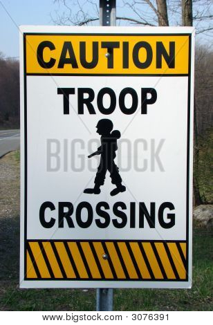 Troop Sign