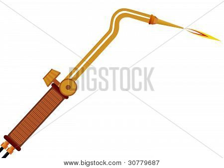 Gas welding torch