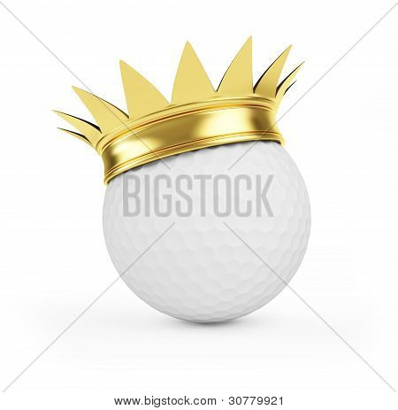 Golf Gold Crown