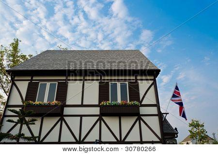 Classic British Building (closeup)