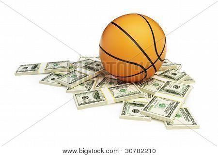 Basketball Ball Dollar