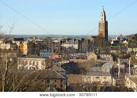 View of Cork city and Shandon church, Ireland