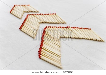 Matchsticks Arrows