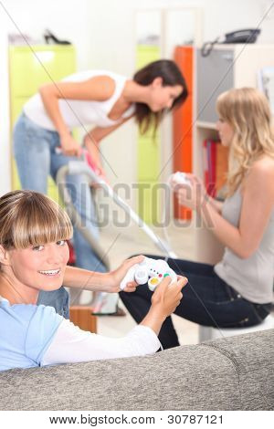 Female flatmates