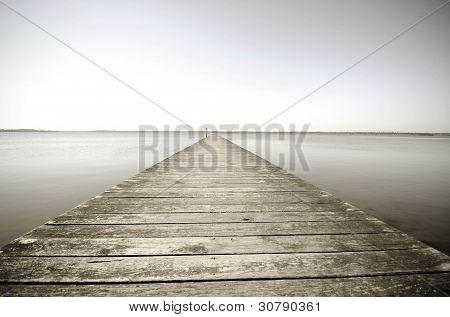 Quiet Inlet (Sepia)