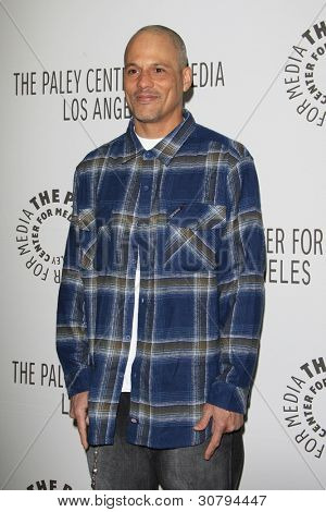 LOS ANGELES - MAR 7:  David Labrava arrives at the