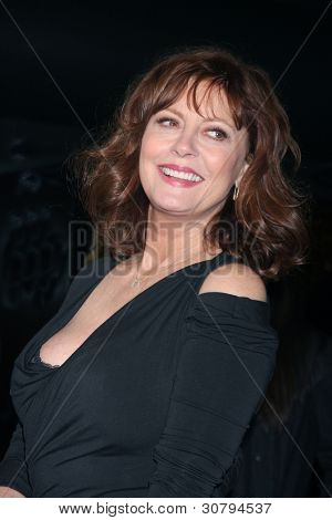 "LOS ANGELES - MAR 7:  Susan Sarandon arrives at the ""Jeff, Who Lives At Home"" - Los Angeles Premiere at the Directors Guild Of America on March 7, 2012 in Los Angeles, CA"