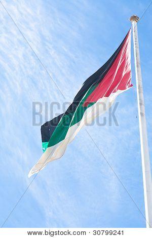 Aqaba Flagpole In Aqaba, Jordan