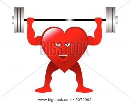 Exercise Heart Weightlifter