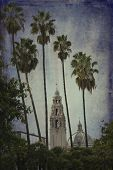 San Diego Museum of Man in Balboa Park in San Diego, California, also known as California Tower poster