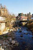 stock photo of por  - Szklarska poreba a small mountain town in western Poland - JPG