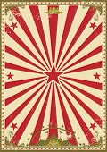 Circus vintage. A retro circus background for your show
