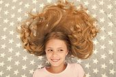 Child Curly Hairstyle Relaxing. Conditioner Mask Organic Oil Keep Hair Shiny And Healthy. Amazing Ha poster